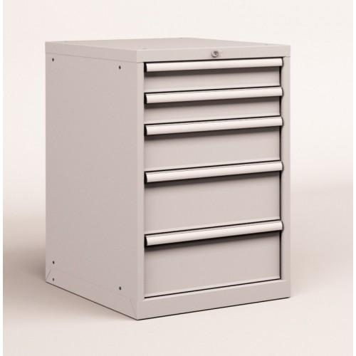 Cassettiere Industriali Metallo.Cassettiera Metallo Industriale Officina 27 X 36 Eh L 564 X P 725 X H 850 5 Cassetti Estrazione 100
