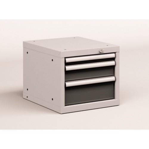 Cassettiere Industriali Metallo.Cassettiera Metallo Industriale Officina 18 X 27 Eh L 411 X P 572 X H 383 3 Cassetti Estrazione 90 100