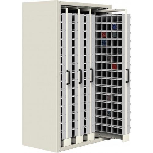 Unibox SCAFFALE ESTRAIBILE L 1073 mm 720 CASSETTI porta minuteria cassettiere officina magazzino ferramenta Unibox  UN8542702/07